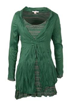 Clarity By Threadz Fashion for size 16+ Bentley Layered Tunic - Womens Tunics at Birdsnest Women's Fashion