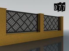 PLOTY GEOMETRY – Ploty-Brány-Zábradlia-Doplnky Gate Decoration, Plasma Cutting, Gate Design, Storage, Railings, Balconies, Furniture, Cnc, Home Decor