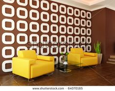 BROWN AND YELLOW ROOM - Google Search Taupe Rooms, Blue And Yellow Living Room, Yellow Accents, Google Search, Brown, Home Decor, Yellow Living Rooms, Interior Design, Home Interior Design