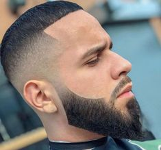 Summer Haircuts, Haircuts For Men, Beard Styles, Hair Styles, Great Beards, Fade Haircut, Dapper, Hair Cuts, Beard Barber