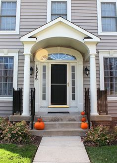 small front porches   Small Front Porch Ideas: Sweet Small Front Porch Ideas Uk, F White ...