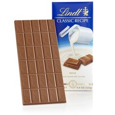 The Hazelnut Classic Recipe Bar from Lindt brings our creamy milk chocolate that melts in your mouth to reveal a blend of hazelnut flavor. Chocolate Hazelnut, Homemade Chocolate, Chocolate Covered, Chocolate Recipes, Hot Chocolate, Blackberry Syrup, Dessert Drinks, Desserts, Food Gifts