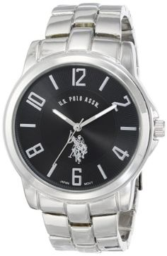 U.S. Polo Assn. Classic Men's USC80041 Analogue Black Dial Metal Link Watch U.S. Polo Assn. Classic,http://www.amazon.com/dp/B003DIPCFE/ref=cm_sw_r_pi_dp_Cs-vtb1GSFT0HS4J