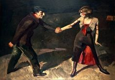 La valse chaloupée', 1914. by Kees Maks (Dutch 1876-1967)