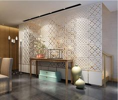 Hanging Room dividers partitions Folding screen Decorative partition aluminium chain curtain paravent Hanging Biombo