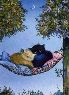 Cats in the night uploaded by Cristy Granger Crazy Cat Lady, Crazy Cats, Animals And Pets, Cute Animals, Cat Drawing, Cute Illustration, Cool Cats, Cat Art, Cats And Kittens
