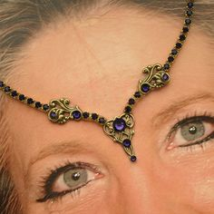 The Eyes Have It (Murphy, NC) -- The Eyes Have It is a business geared toward belly dancers. I offer unique handmade bindis made only from Swarovski Crystals, Austrian Crystal Chain and Gold and Silver Plated Filigree and Ball Chain.