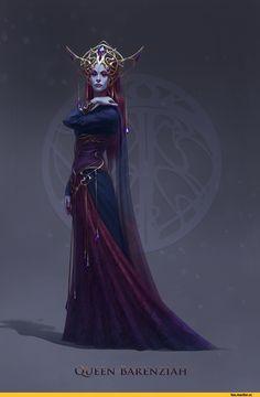 Барензия,TES Персонажи,The Elder Scrolls,фэндомы,inSOLense