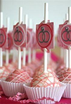 Bridal Shower Cake Pops!