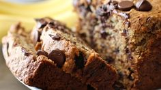 Very ripe bananas keep this quick bread sweet and moist.