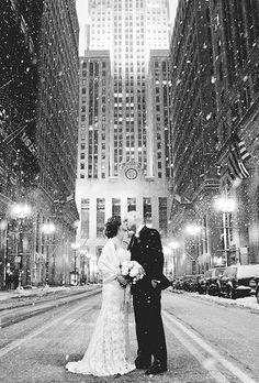 Cities in winter are so picturesque | Brides.com