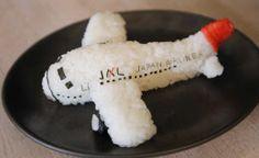 3D Rice Art: Japan Air Line Kyaraben