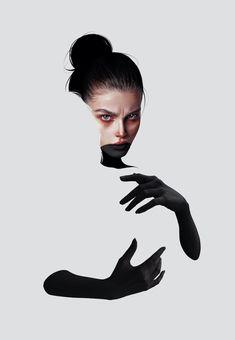 Digital Art by Laura H. Rubin. #drawing #art #artwork Self Portrait Art, Art Sketches, Digital Art, Illustration Art, Till Death, Photo And Video, Drawing Art, Arabic Quotes, Drawings