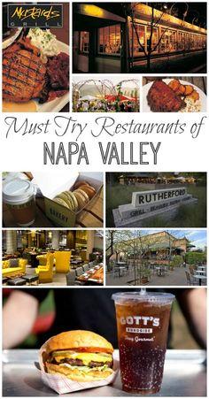 Best Restaurants of Napa Valley #dinecalifornia #ad #TravelDestinationsUsaNapaValley