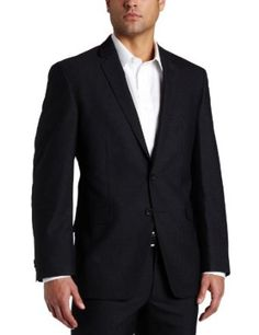 #Kenneth #Cole Reaction Mens Grey Stripe #Suit Separate #Coat $97.99 Save 51% (Retail: $200)