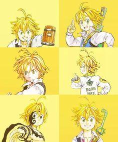 Meliodas sama!!!!! Nisekoi, Seven Deadly Sins Anime, 7 Deadly Sins, Meliodas And Elizabeth, Bandai Namco Entertainment, 7 Sins, Akaashi Keiji, Manga Anime, Manga Drawing