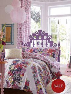 Accessorize Floral Union Jack Bedding Range