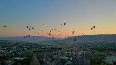 How to enjoy hot-air balloon at ZERO cost in Cappadocia