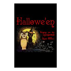 >>>Coupon Code          Cat and Owl in Vintage Halloween  Poster           Cat and Owl in Vintage Halloween  Poster in each seller & make purchase online for cheap. Choose the best price and best promotion as you thing Secure Checkout you can trust Buy bestReview          Cat and Owl in Vin...Cleck Hot Deals >>> http://www.zazzle.com/cat_and_owl_in_vintage_halloween_poster-228459864731457094?rf=238627982471231924&zbar=1&tc=terrest