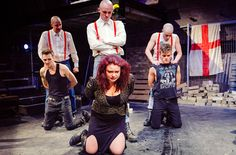 17 Oct 2013 Titus Andronicus . Arcola Theatre. London #Shakespeare