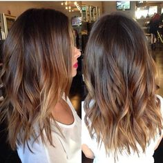 Who says balayage highlights are only for long hair? They look equally great on short hair as well. Check these amazing balayage hair now! Hair Color And Cut, Hair Colour, Ombre Color, Hair Color Balayage, Balayage Highlights, Brown Balayage, Caramel Balayage, Caramel Hair, Subtle Balayage Brunette