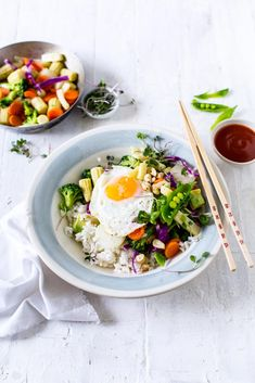 Sticky Asian rice bowl   Crush via @crushonlinemag