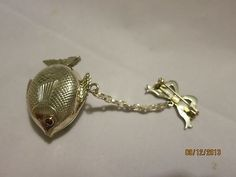 Silver Fish Beautiful RARE Miniature Reuge Musical Music Box   eBay