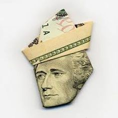 Cool ways to fold money for gifts - money origami- for my mom Craft Gifts, Diy Gifts, Don D'argent, Crafts To Do, Paper Crafts, Folding Money, Paper Folding, Letter Folding, Do It Yourself Inspiration