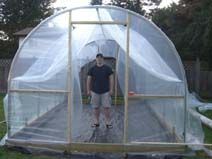 Greenhouses diy on pinterest for Do it yourself greenhouse plans