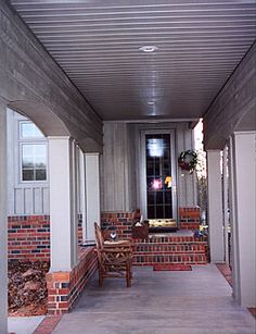 Breezeway idea - connecting back door and garage