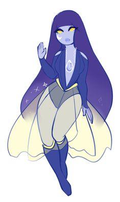 Steven Universe Character: Moonstone by ClassyGuppy.deviantart.com on @DeviantArt