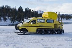 Bombadier snowcoach by North Carolina Museum of Natural Sciences, via Flickr