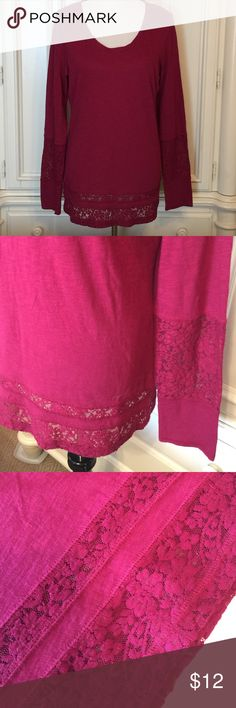 """Tunic Top Beautiful fall color, 28"""" long, 21"""" across at bust line. Great with jeans and dress pants. NWOT Maurices Tops Tunics"""