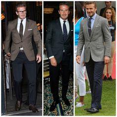 Choose to perform Trend, head-turning looks. Blazer Fashion, Mens Fashion, Blazer Suit, Suit Jacket, David Beckham Style, The Beckham Family, Tuxedo Suit, Mens Style Guide, Sharp Dressed Man