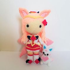 League of Legends Star Guardian Ahri Amigurumi