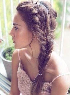 Hair Pinspirations: Messy Braids