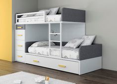 Another offset bunk bed