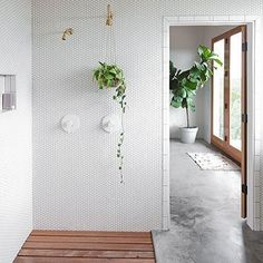 Get More Decor like this Here: http://amzn.to/1leJPO6 Bathroom inspo we spotted on Pinterest. Any favorites? (Link in...