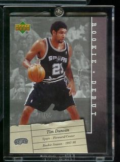 2006 /07 Upper Deck Tim Duncan Rookie Debut San Antonio Spurs Basketball Card #85- Mint Condition - Shipped in protective ScrewDown Case! by Upper Deck. $3.88