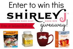 Enter to win this Shirley J giveaway worth $120! Super easy to enter! SixSistersStuff.com #giveaway #food #freestuff