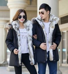 new men's fleece jacket winter fur hooded duck down coat parka outerwear fashion regular china Shearling Coat, Fur Coat, Men's Coats And Jackets, Winter Jackets, Mens Fleece Jacket, Fur Lined Coat, Duck Down, Down Coat, Parka