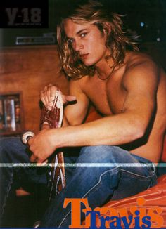Travis Fimmel. OMG I used to totally have this guys pic all over my dorm room in college! hahahaha