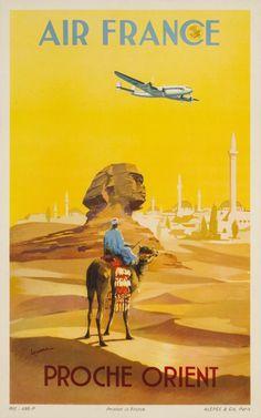 Air France, Proche Orient