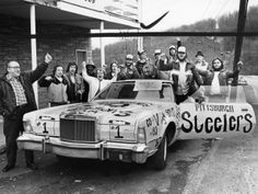 They wore Franco's Italian Army helmets, wrote 'Steelers #1' on their cars and organized fan clubs: Bradshaw's Brigade, Lambert's Lunatics, Gerela's Gorillas and Shell's Bombers. They were the first generation of the  Steeler Nation (the name coined in 1975 to refer to the Steelers fan base).