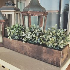 Our handmade rustic planter boxes are crafted out of pine in order to show the woods natural, beautiful imperfections. Each one is perfect as a table centerpiece or a festive decorative focal poin Thanksgiving Table Centerpieces, Dining Room Table Centerpieces, Table Decorations, Wooden Box Centerpiece, Centrepieces, Centerpiece Ideas, Dining Table, Wooden Flower Boxes, Wooden Boxes