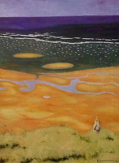 Felix Valloton, The Rising Tide, 1913
