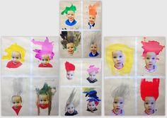les petites têtes de l'art: Inspiré par Lorna Simpson