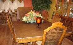 Custom Dining Room Table Pads Captivating Dining Table Pads  Pads For Saving Your Dining Table's Life Decorating Design