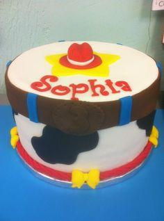 Toy Story Jessie Birthday Cake  www.sweetnessbakeshop.net  facebook.com/sweetnessbakeshop