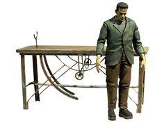 Figura de Frankestein de Boris Karloff, muy bien detallada, incluye accesorios. Indispensable para los fans de las pelis de terror!!!! Diamond Select Toys - Frankestein, consiguela en www.tientagael.es